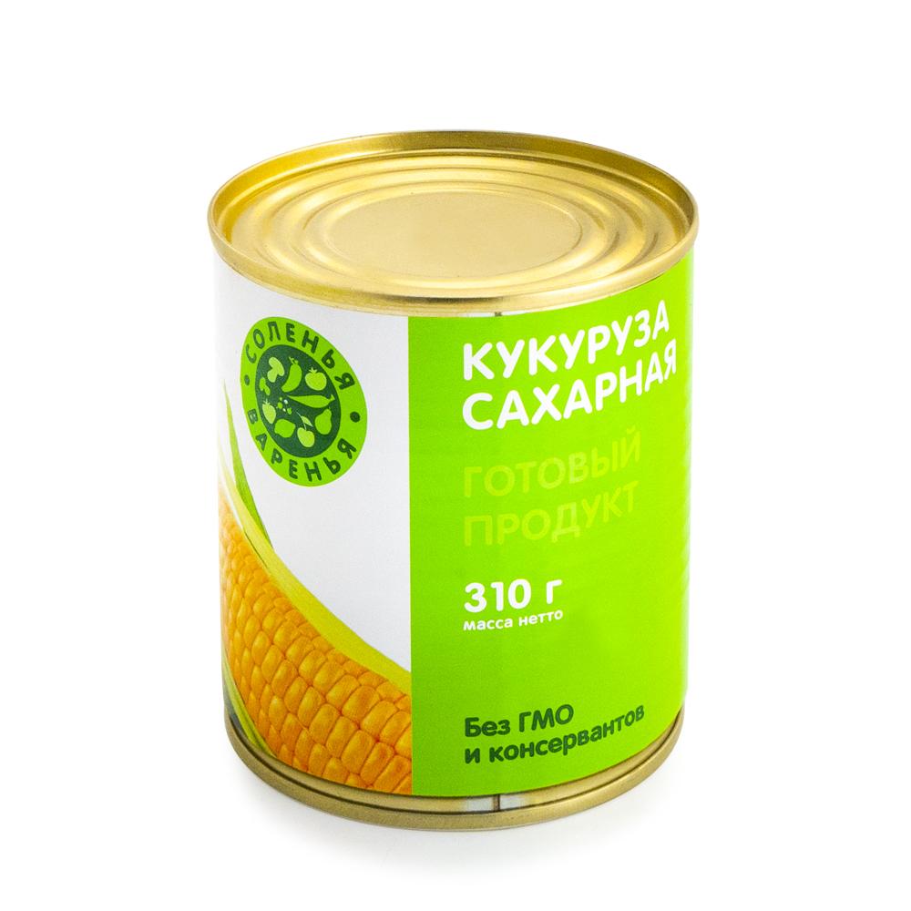 Кукуруза сахарная, Соленья&Варенья, 310 г