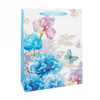 Пакет подарочный, With Love, 32х25х11 см, в ассортименте