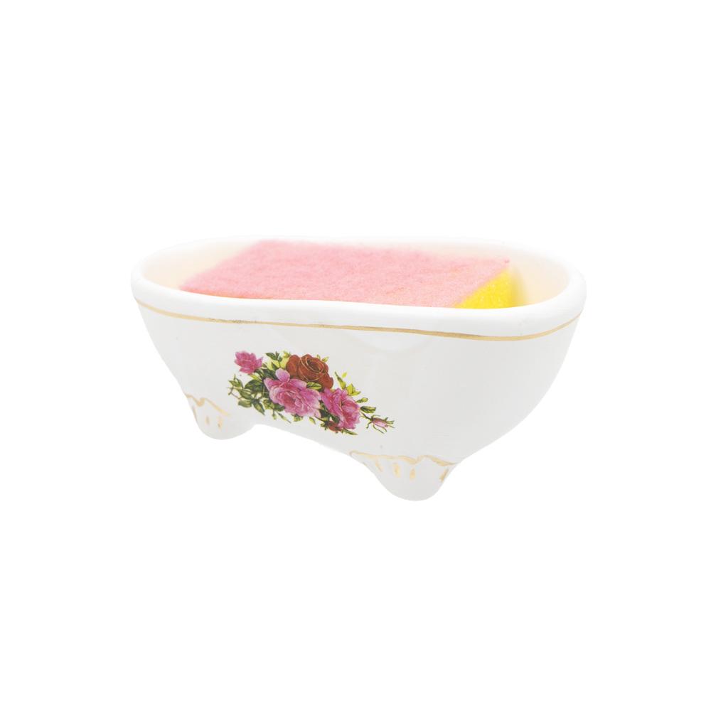 Губка для посуды на подставке