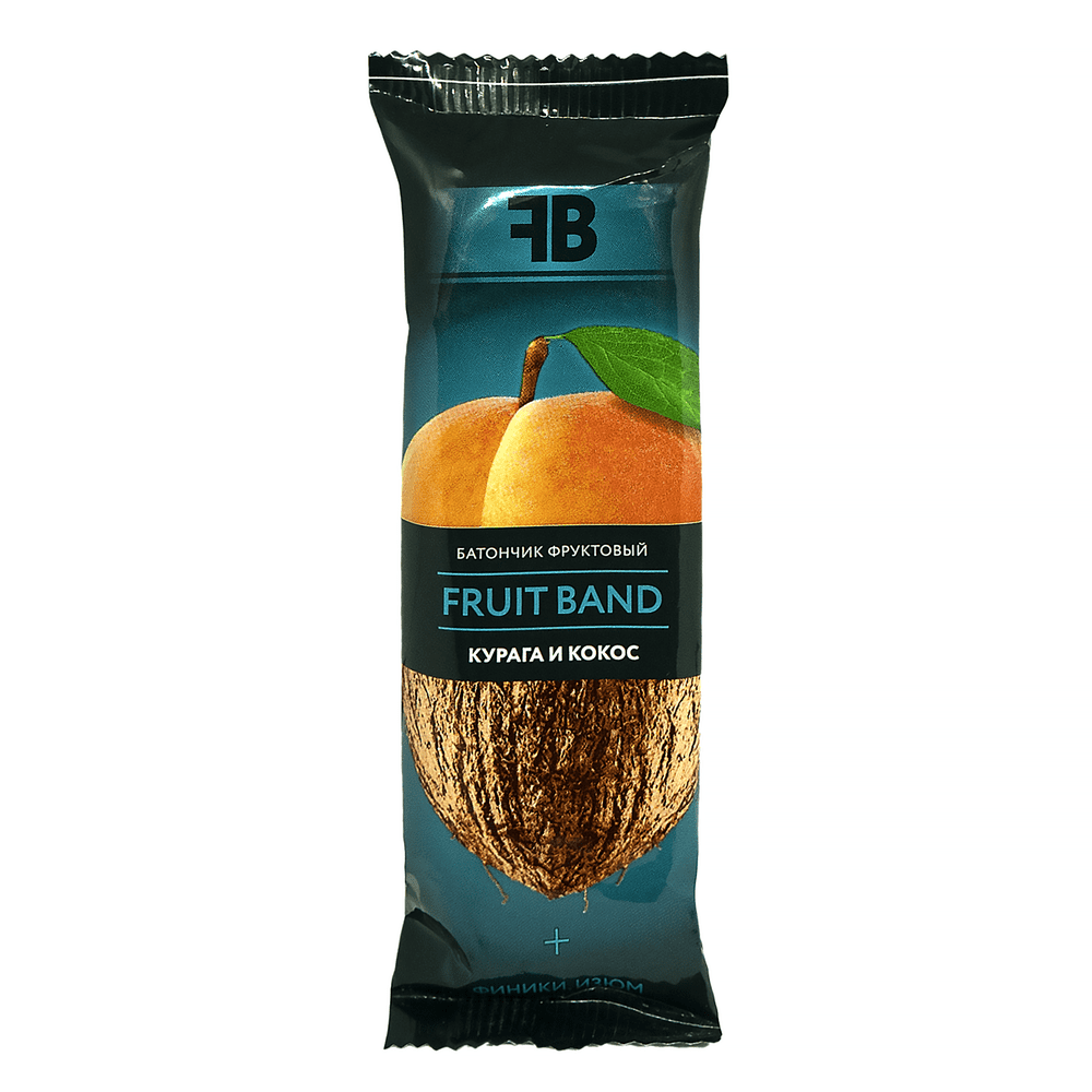 Батончик FRUIT BAND, курага/кокос/лен, 40 г