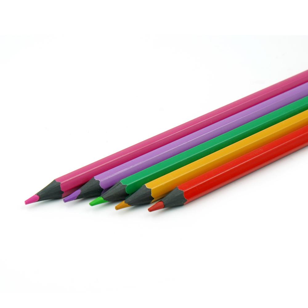 Набор пластиковых цветных карандашей, Berlingo, 24 цвета