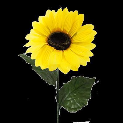 """Цветок искусственный """"Подсолнух"""", 80 см"""