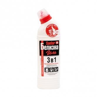 Чистящее средство, Санфор, Белизна гель 3 в 1, 450 г