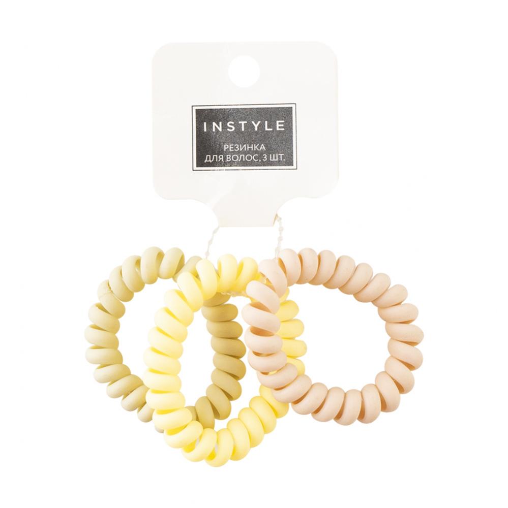 Резинка для волос, InStyle, 3 шт., в ассортименте