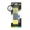 Набор автоматических карандашей с грифелями, 4 шт., в ассортименте