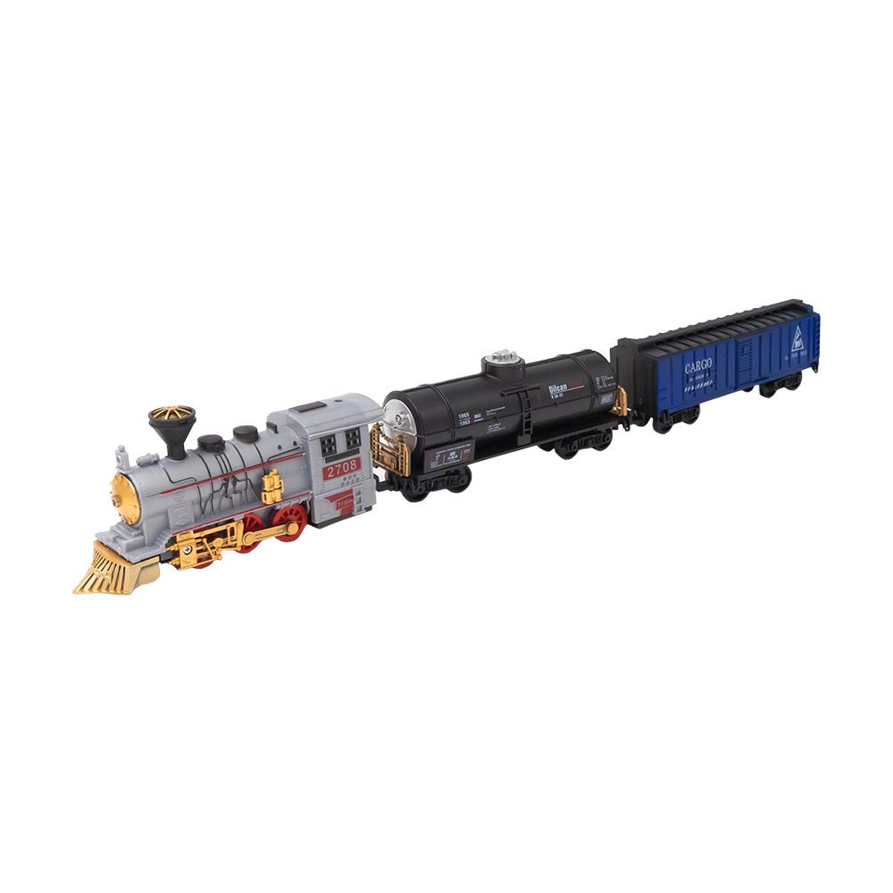 """Игровой набор """"Поезд и 2 вагона"""", Play the Game, в ассортименте"""