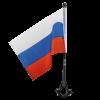 Флаг на мотоцикл, 14х21 см