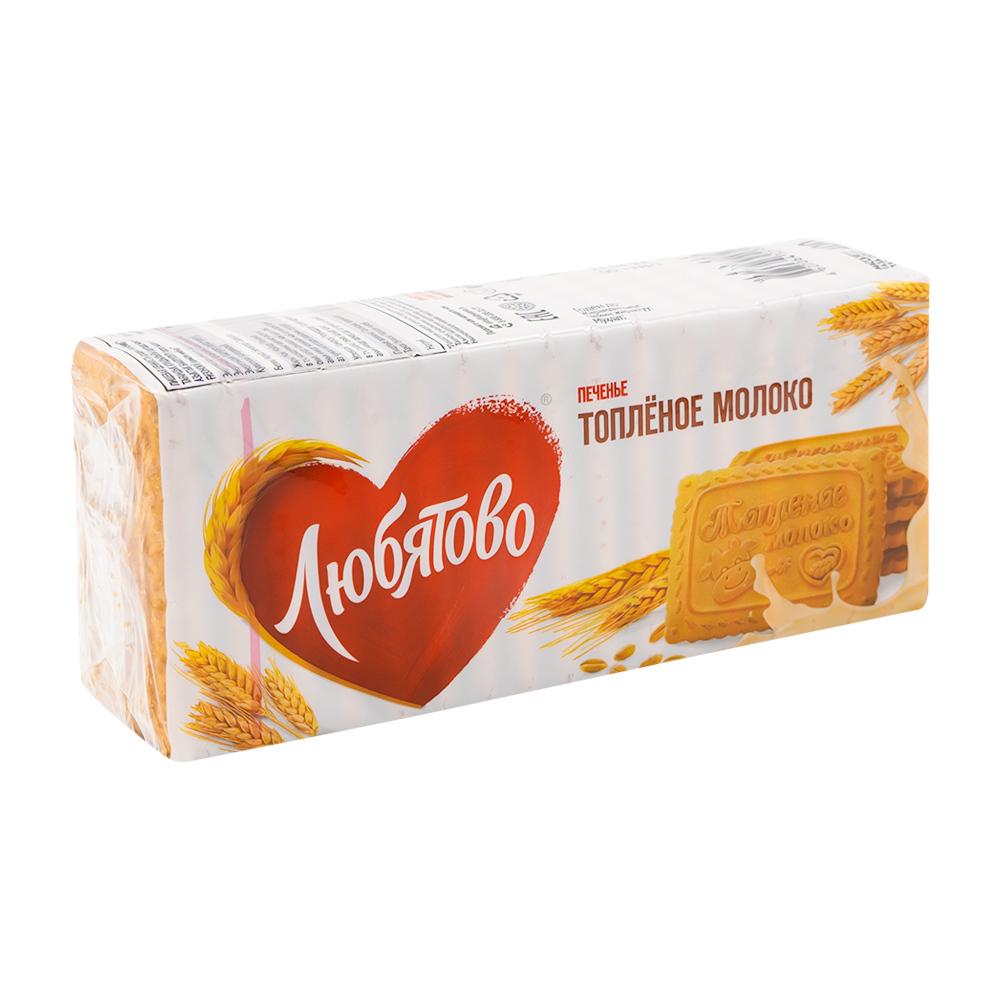 """Печенье """"Топленое молоко"""", Любятово, 400 г"""