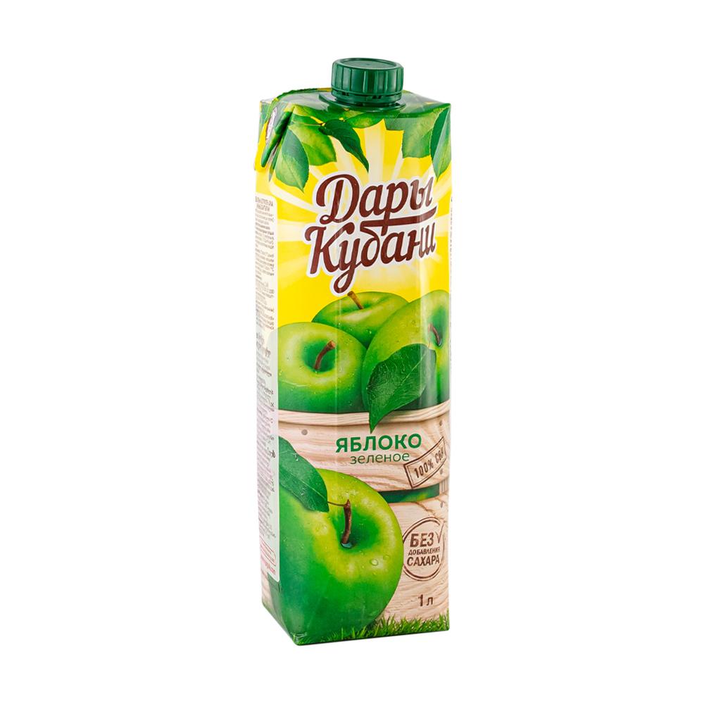 Сок, Дары Кубани, яблоко, 1 л