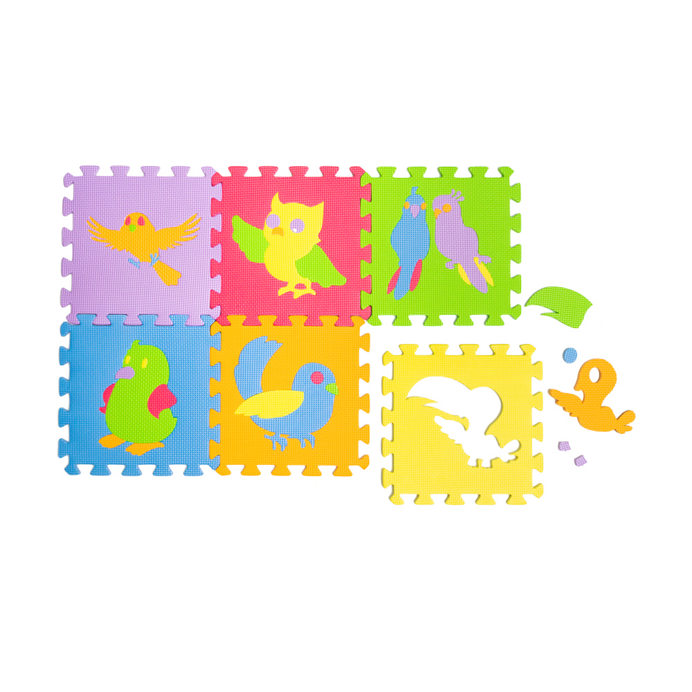 Большой развивающий пазл, Play the Game, 6 элементов, в ассортименте