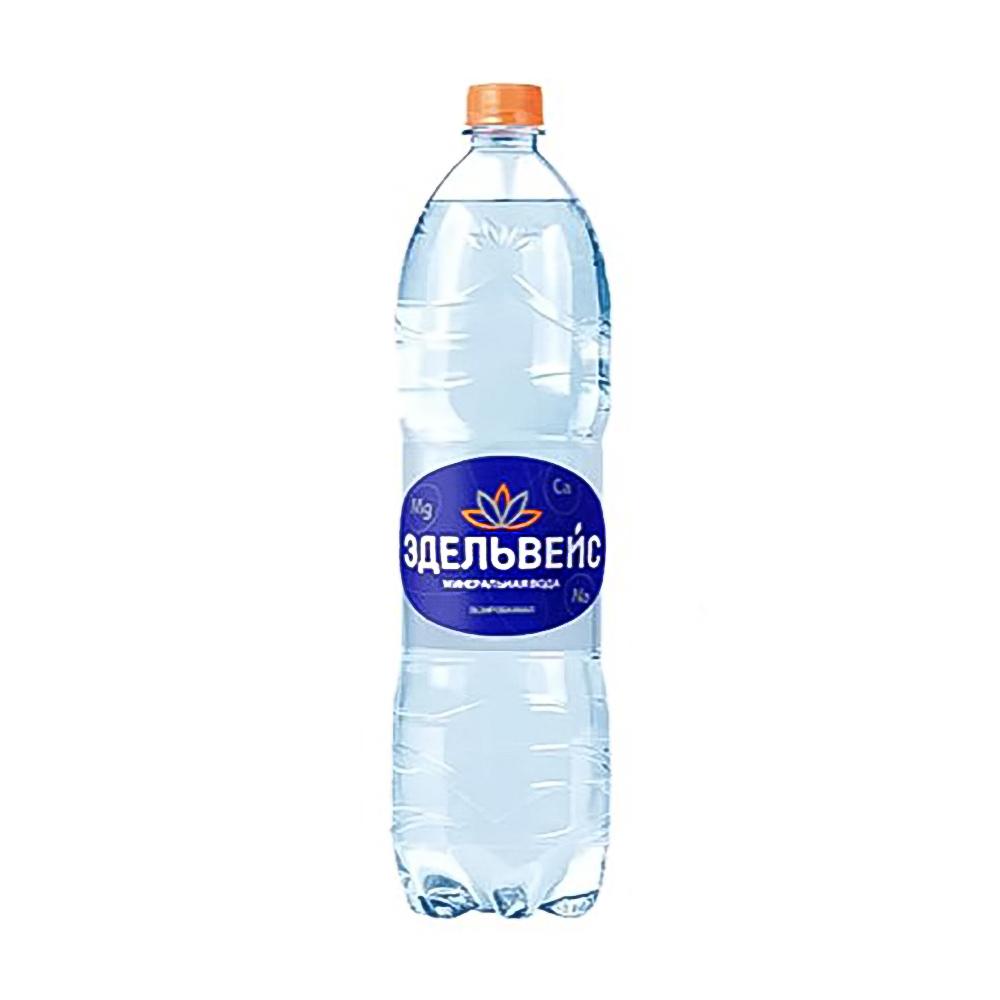 Вода газированная, Эдельвейс, 0,5 л