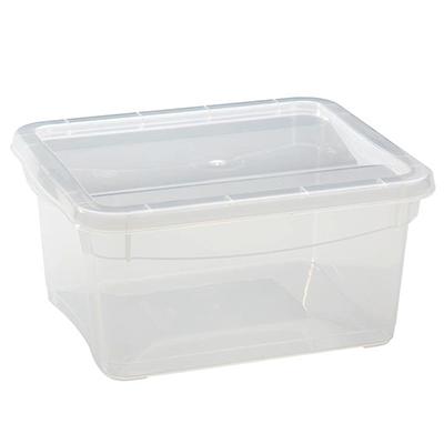 Ящик универсальный, 2 л, 19х16х9 см, в ассортименте