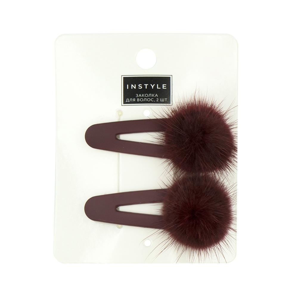 Заколка для волос, Instyle, 2 шт., в ассортименте