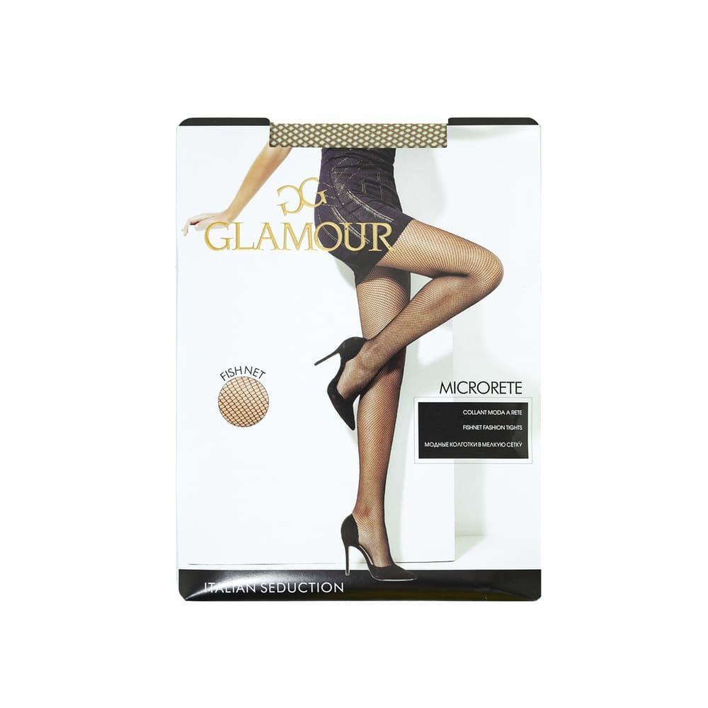 Колготки женские Glamour сетка