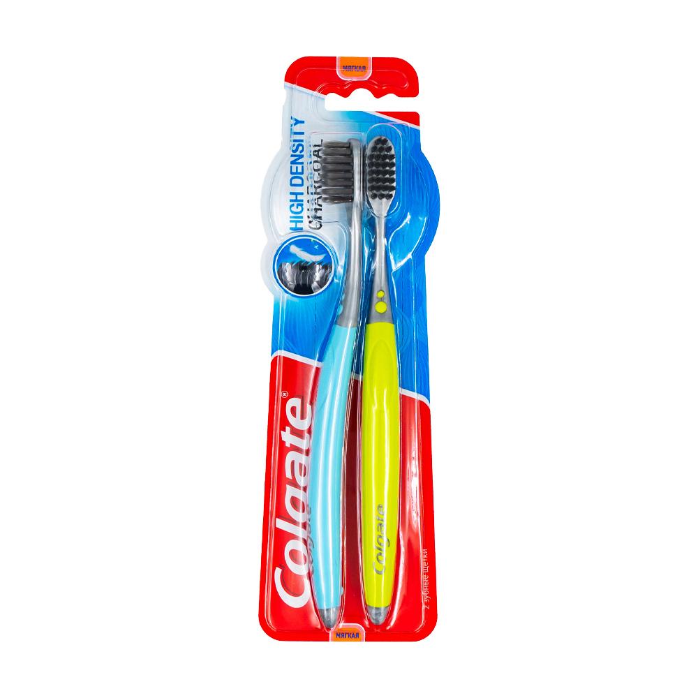 Зубная щетка, Colgate, 1+1 шт., в ассортименте