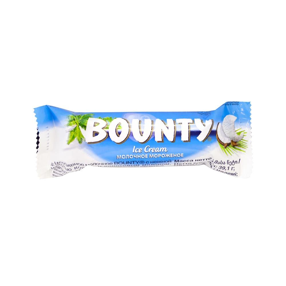 Мороженое, Bounty, Батончик 39,1 г