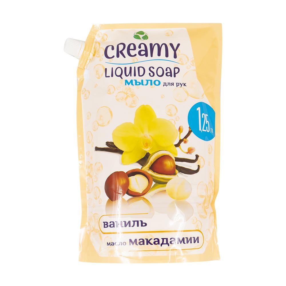Жидкое крем-мыло, Creamy, 1250 мл, в ассортименте