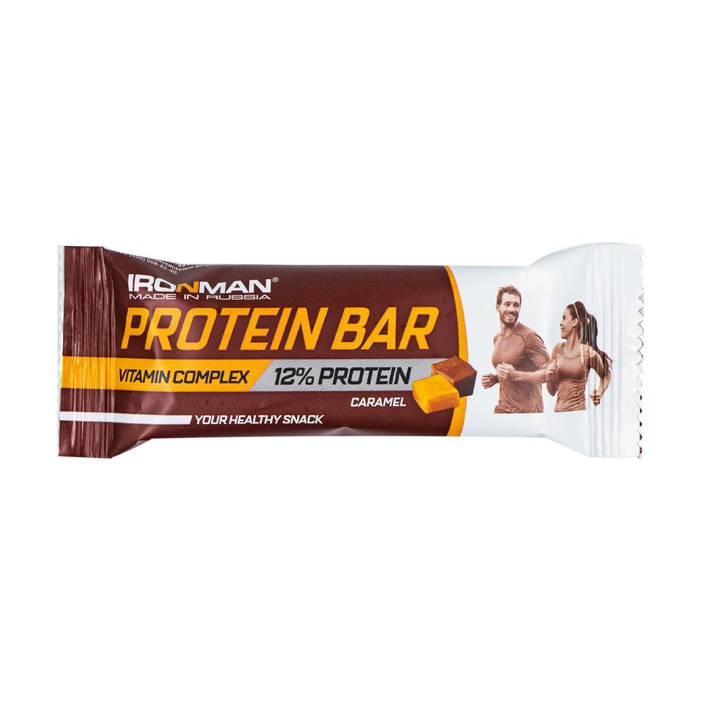 "Шоколадный батончик ""Protein Bar"", карамель, 35 г"
