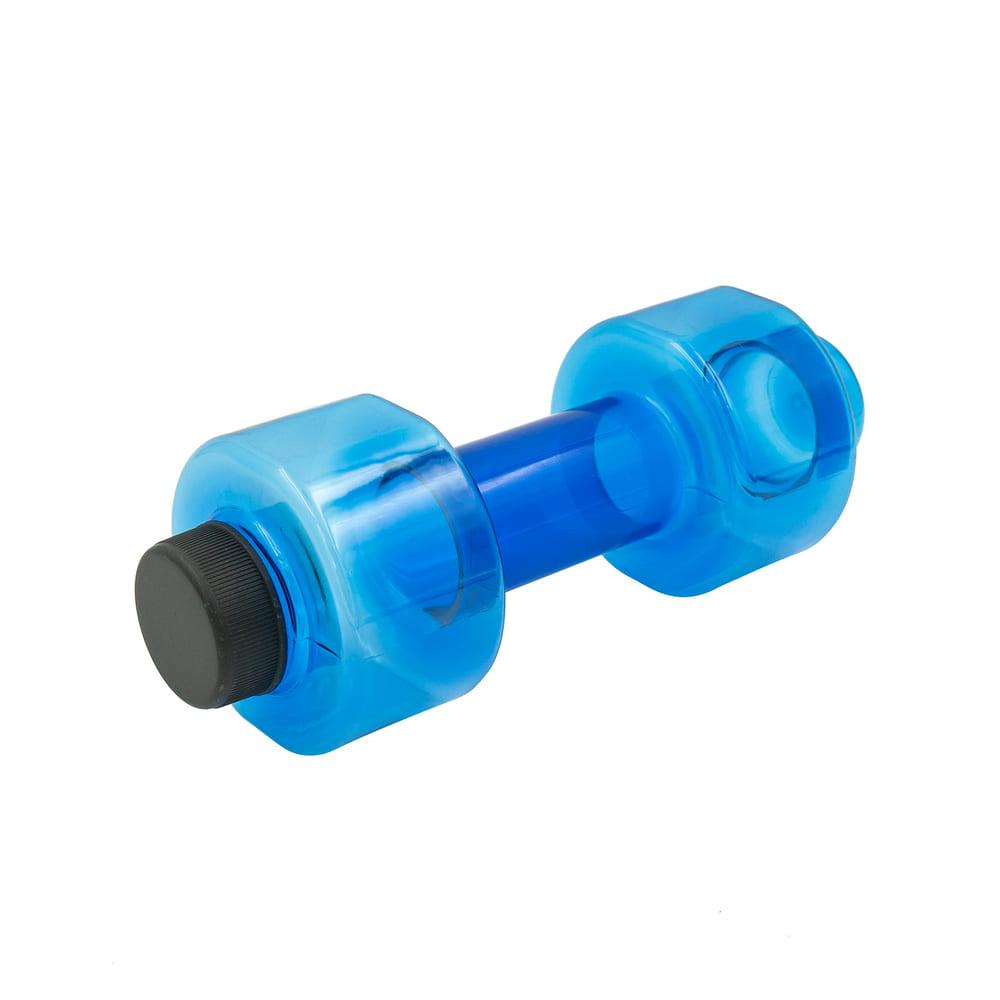 Гантель-бутылка, Fitness&Power, 600 мл, в ассортименте