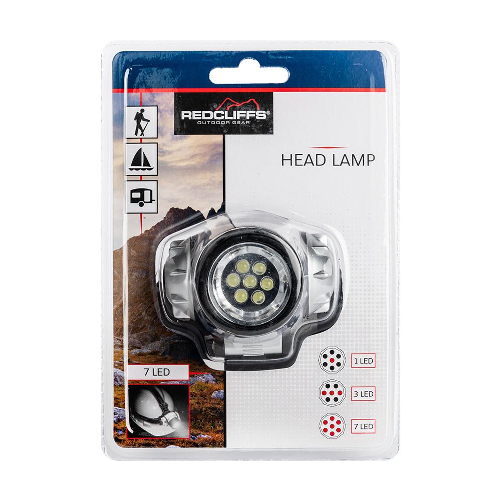 Galvas 7 LED lukturis