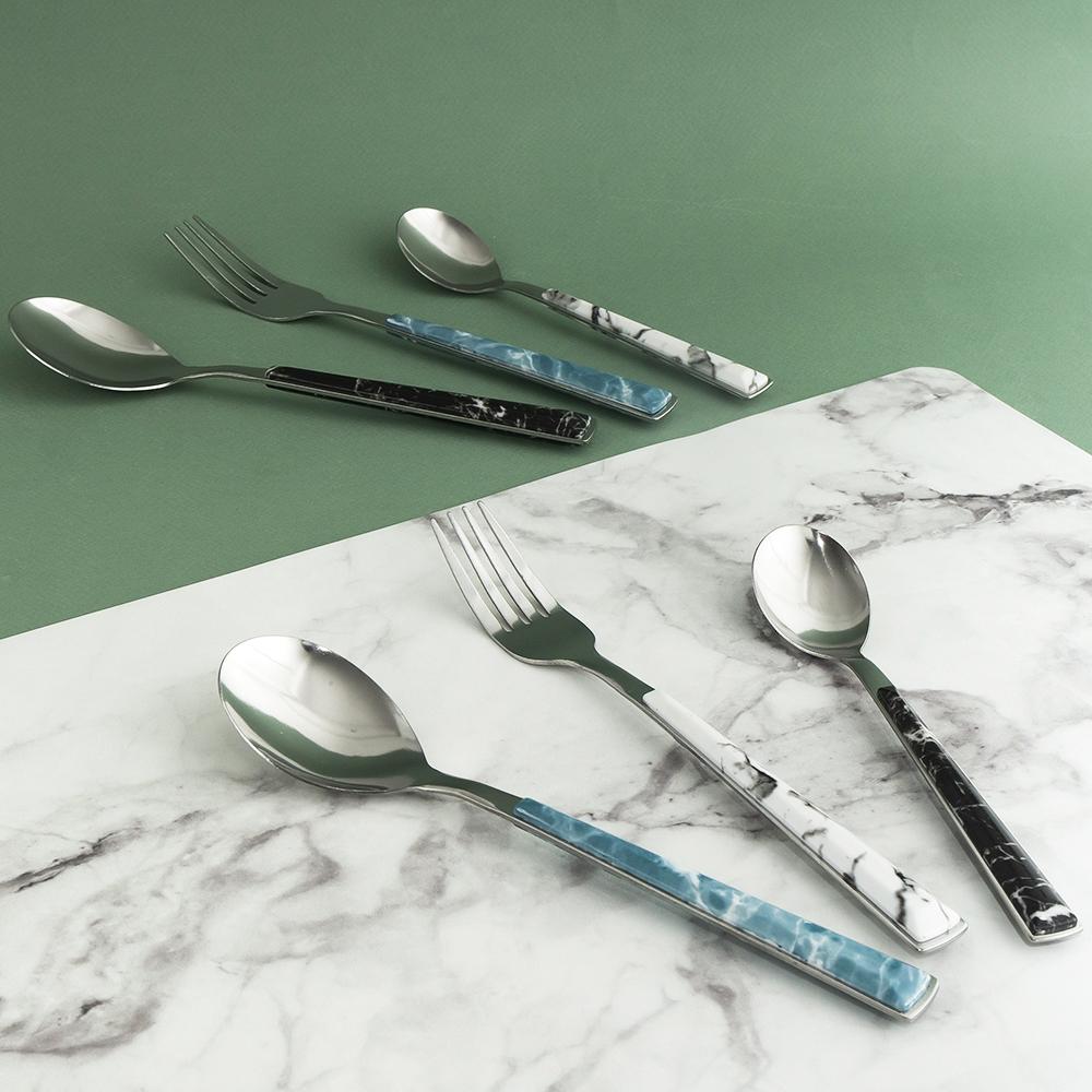 """Ложка столовая """"Мрамор"""", O'Kitchen, в ассортименте"""