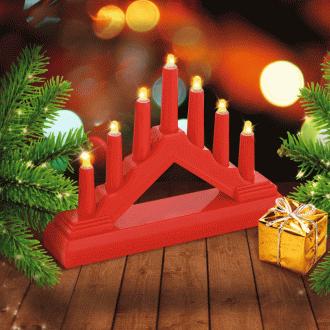 Светильник новогодний, 7 ламп