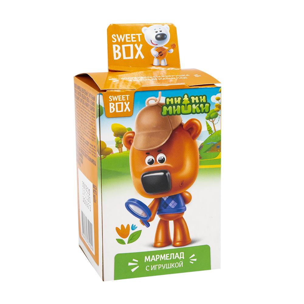 Жевательный мармелад с подарком, Sweet Box, 10 г