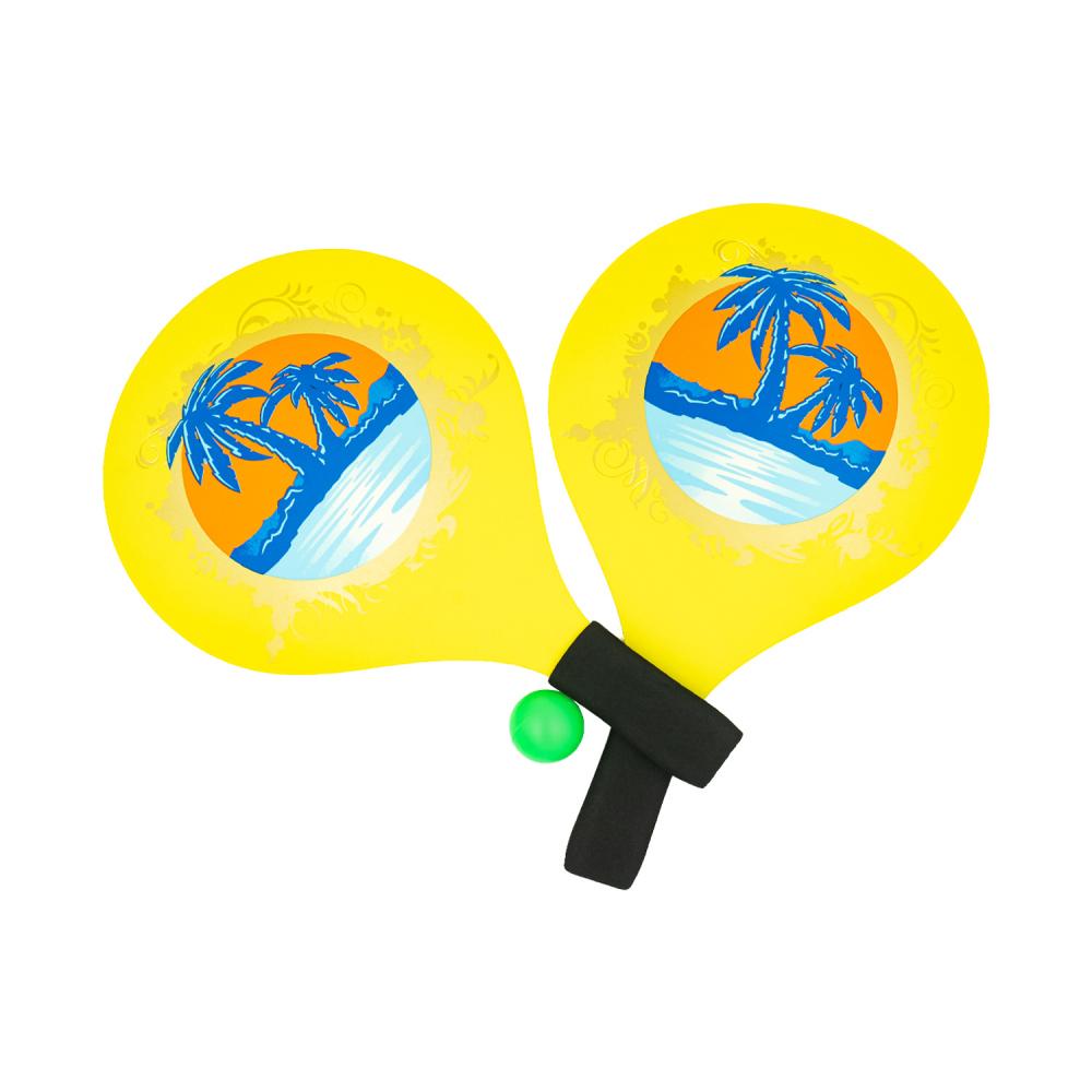 Набор для пляжного тенниса деревянный, Sport&Fun, в ассортименте