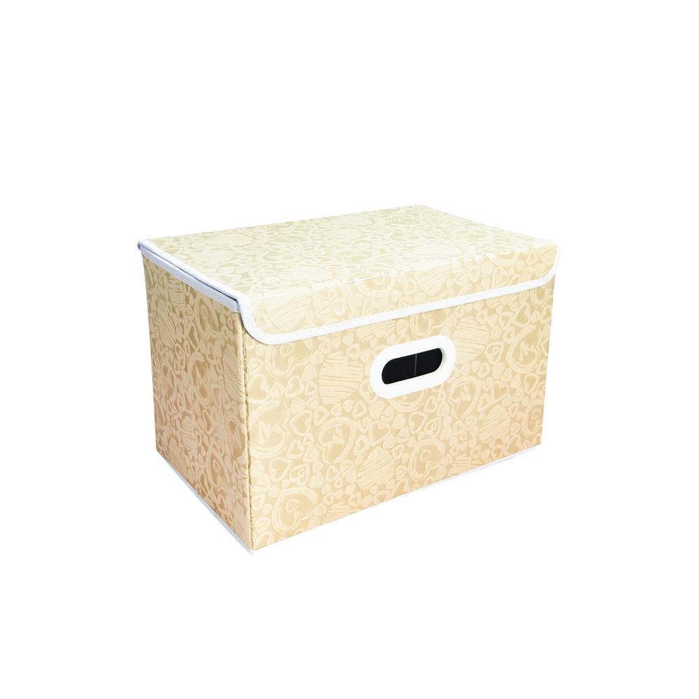 Коробка складная для хранения, Home Time, 38х25х25 см, в ассортименте