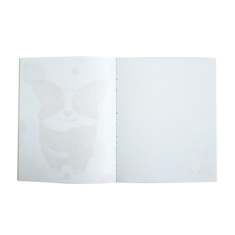 Блокнот А5, 80 листов, в ассортименте